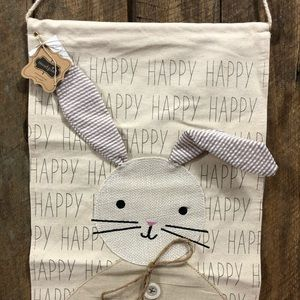 Mud Pie Easter bunny hanging decor NEW!!